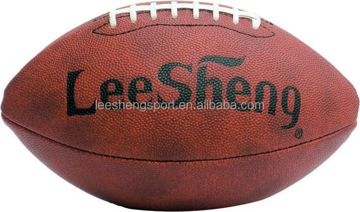 Rubber bladder High quality PVC leather rugby ball