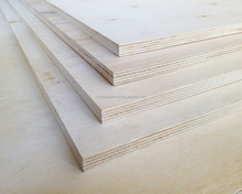 natural veneer faced poplar plywood used for making toys