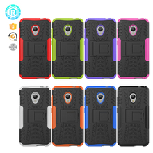 Factory wholesale hard pc +soft tpu back case hybrid phone cover for Alcatel U5 phone shell