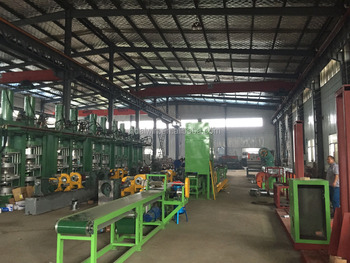 Automatic tire inner tube production line