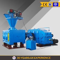 Lime, Dolomite and Coal Fines Hydraulic Roll Briquetting Machine