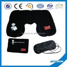 Airline Travel pillow set with customised logo