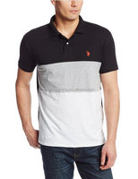 Wholesale plain fit muscle polo shirt t shirt