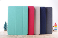 Oracle line Corner Protective Tri-Fold Standing PU leather case with Multi-Angle Viewing Stand for ipad mini 2