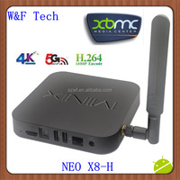 2014 New Quad Core Amlogic S802 2G/16G XBMC Google Media Player IPTV Mini PC MINIX NEO X8-H Smart Android TV Box