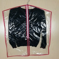 Grocery Store Surpermarkets Transparent Cheap Plastic PE Garment Bags for Clothing