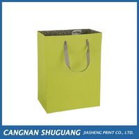Factory supply good quality kraft paper bag luxury paper gift bag directly sale