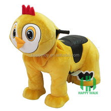 HI CE Plush amusement walking ride on kid riding horse toy pony scooter