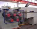 80kg per hour PP packing belt PP strapping extrusion machine
