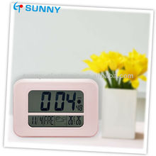 Hot Sale Pink Alarm Twin Bell Clock