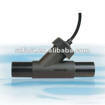 plastic water flow sensor