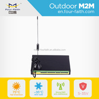 F2164 GPRS RTU remote terminal unit with sim card slot RS232/485 serial port support multi I/O port for data collection