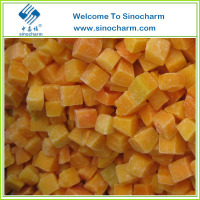 Exporting Chinese High Qulity IQF Frozen Pumpkin