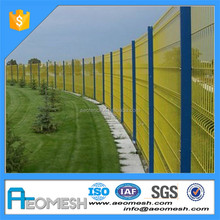 2017 High Qaulity Cheap Hot Dipped Galvanized/PVC Coated Airport Security fence for Safety Protection