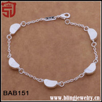 Top Brands Fine Chain Bulk Wholesale Lucky Stone Bracelets