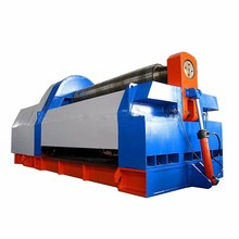 W11 series 60x3000 spiral blade cold rolling machine,3 roller hydraulic plate rolling machine