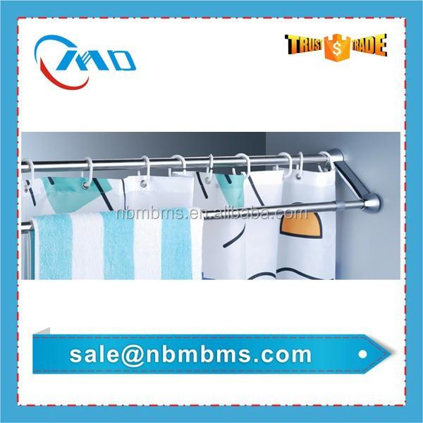 Curtains Ideas curtain rod suppliers : Double Track Shower Curtain Rod, Double Track Shower Curtain Rod ...
