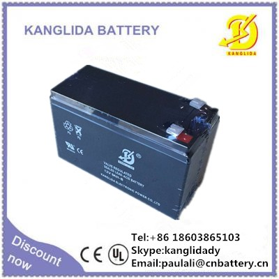 12v9ah sealed lead acid battery for security & alarm system