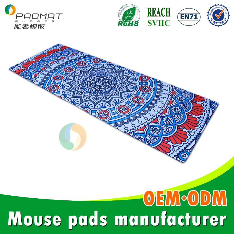 wholesale eco-friendly yoga mat manufacturing