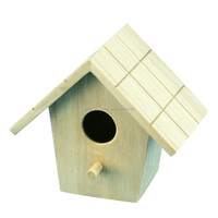 Good quality elaborate small wood crafts bird houses