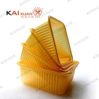 fine shape blister container plastic cake packaging disposable inner tray food grade