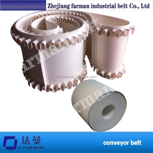3MM High Quality PVC conveyor belt used in food industry