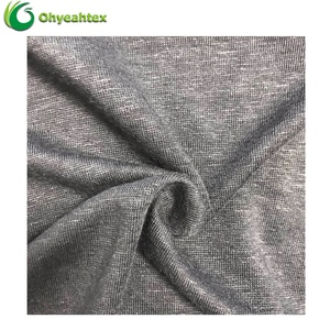 New Hacci Flax Jersey 100% Linen Fabric For Shirts