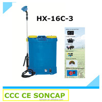Popular Electric Agricultural Knapsack Power Sprayer Machine Price (HX-16C-3)