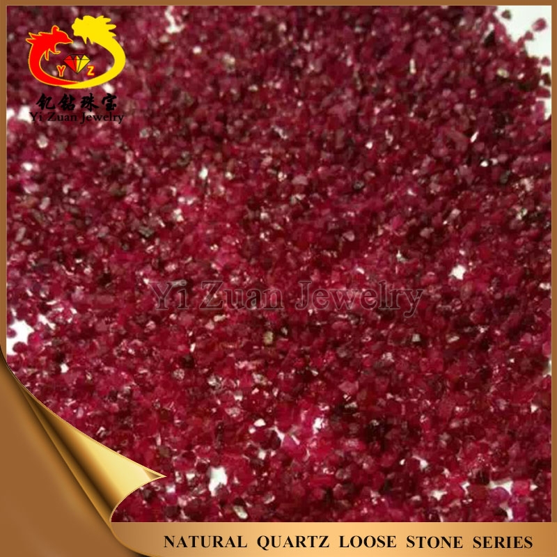Large scale production untreated charming loose gemstone natural raw ruby