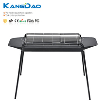 Household Rectangular Iron Portable Barbecue Folding Charcoal BBQ Grill