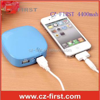 High Quality portable power bank with 4400mah for samsung android