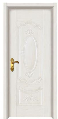 cheap exterior steel door white