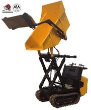 Garden mini transporter self-loading track dumper