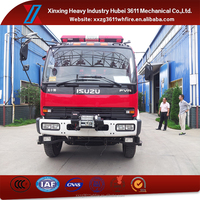 Hot Sale 4*2 Euro3 8t Emergency Rescue Vehicle