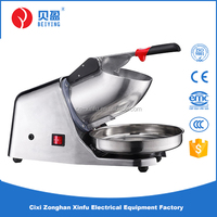 double blades snow cone ice crusher
