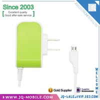 with usb cable colorful 5V 1A travel mini charger