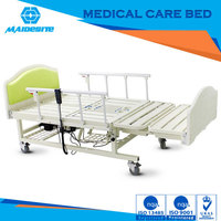 Good quality family bed for patients for home with toilet