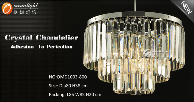 2017 China supplier glass pendant light wholesale led chandelier light dia 400/600/800mm