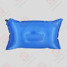 wholesale inflatable beach pillow/ Chian Supplier travel pillow inflatable/inflatable camping pillow