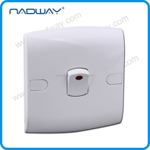 home 10A 250V UK/british lamp electrical 1 gang 3 way switch