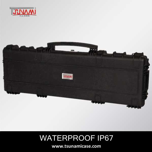 No.1133513 plastic molded Rifle AR15 gun case heavy transport tool case sturdy plastic cases