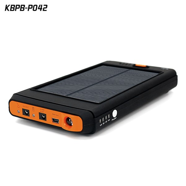 Universal Portable power bank 12000mAh Solar laptop charger