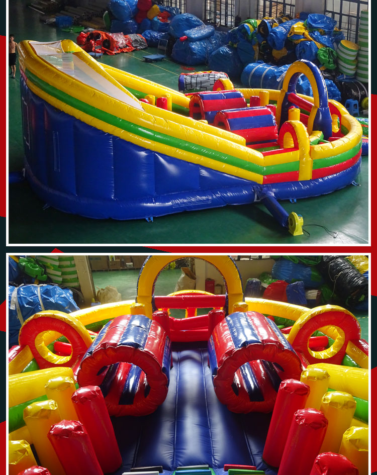 giant inflatable obstacle course for sale
