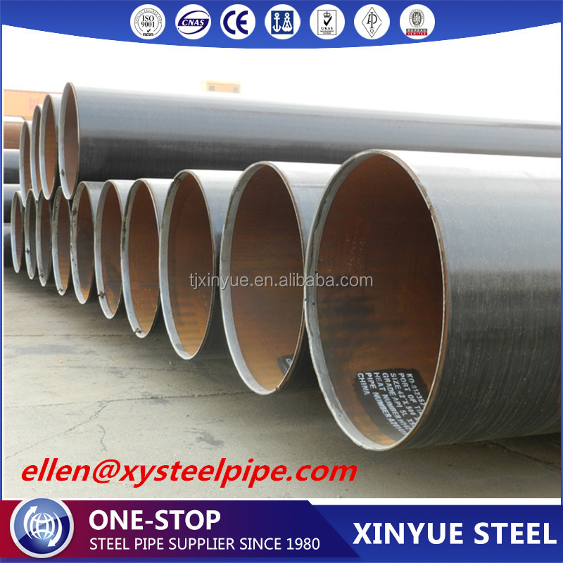API 5l x65 lsaw Pipe 3pe, Large Diameter Lsaw Carbon Steel Pipe/Tube Conveying Fluid Petroleum Gas Oil
