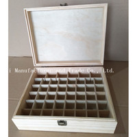 2017 High quality Factory Price Packing Custom wooden arts crafts cheap design pine wood essential oil bottle packaging box