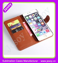 JESOY Mobile Phone Wallet Card Case For iphone 6 6s Leather Flip Case Cover