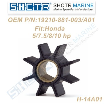 OEM Outboard impeller for 19210-881-003 19210-881-A01 Sierra18-3245 5/7.5/8/10HP