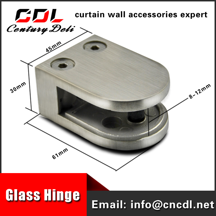 304 316 stainless steel drinking glass clip D glass clamp