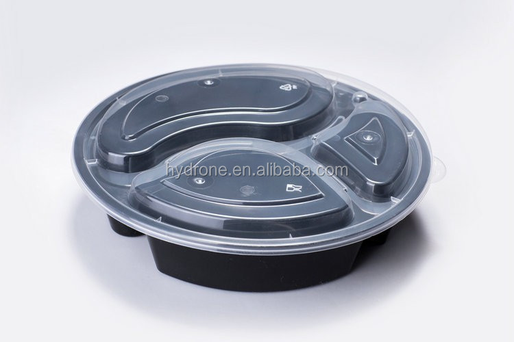 Fresh food protected plastic container