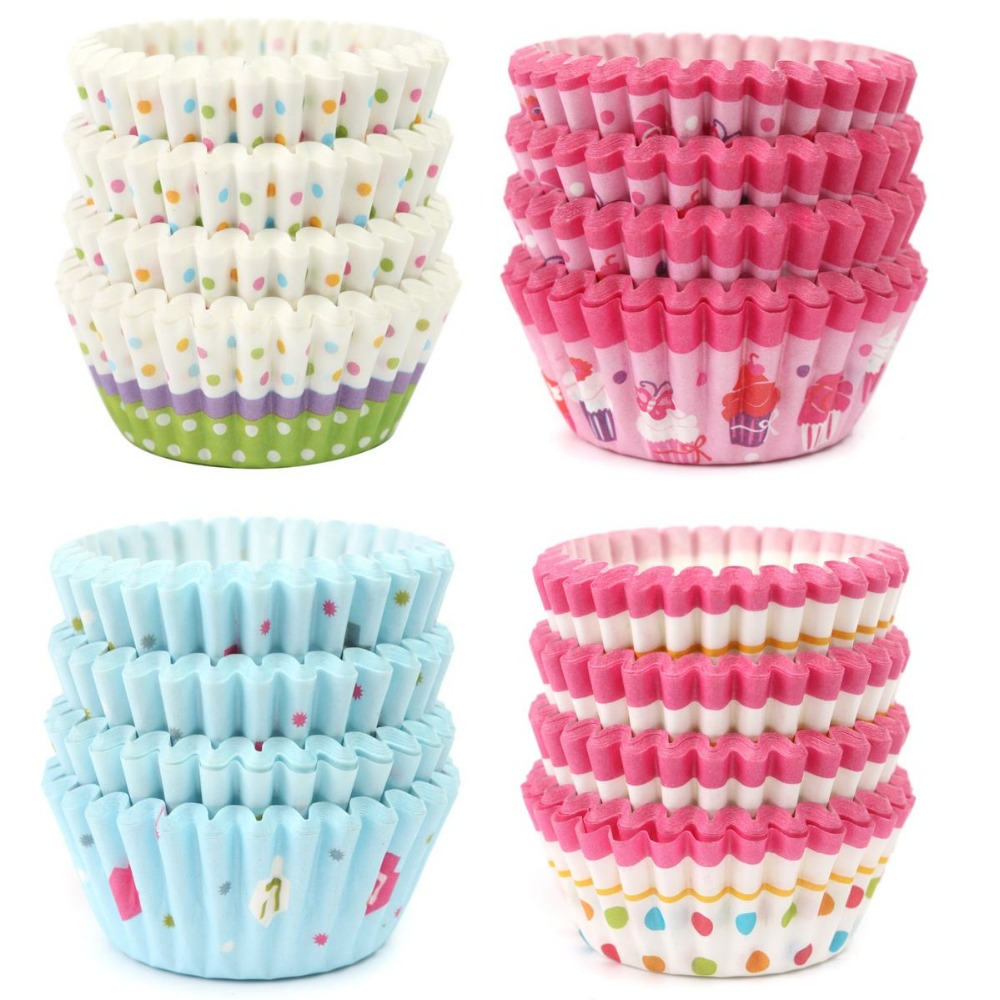 Biodegradable Mini Paper Cupcake Liners